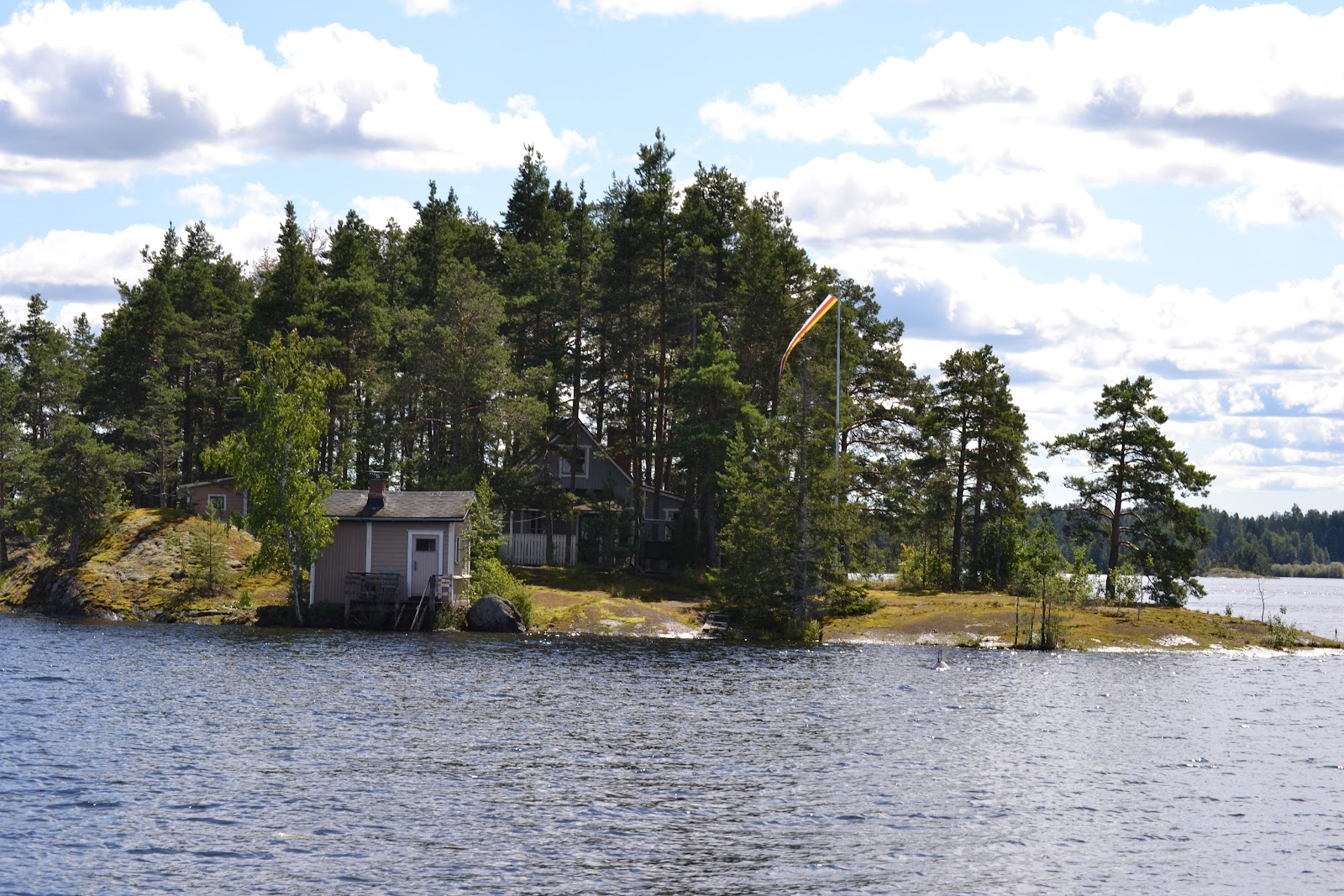 Veneilyä Saimaalla – Boating on the Lake Saimaa