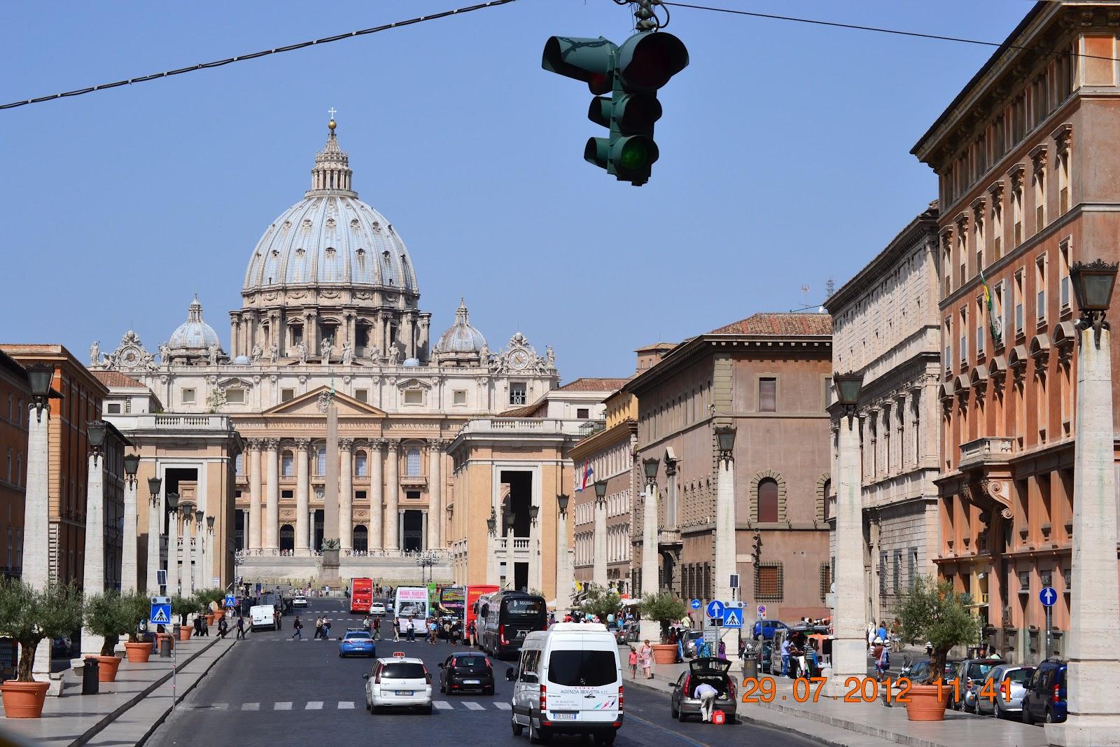 Kolme päivää Roomassa – Three days in Rome