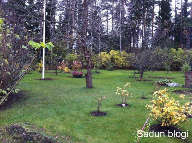 Pihatöitä hyvässä säässä -Gardening in good weather
