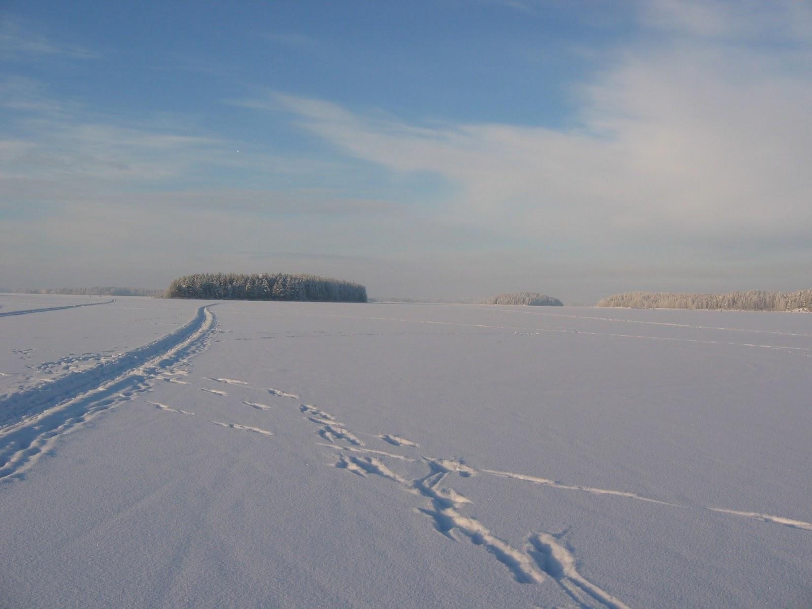 Talvimuistoja kuvina – Winter memories in pictures