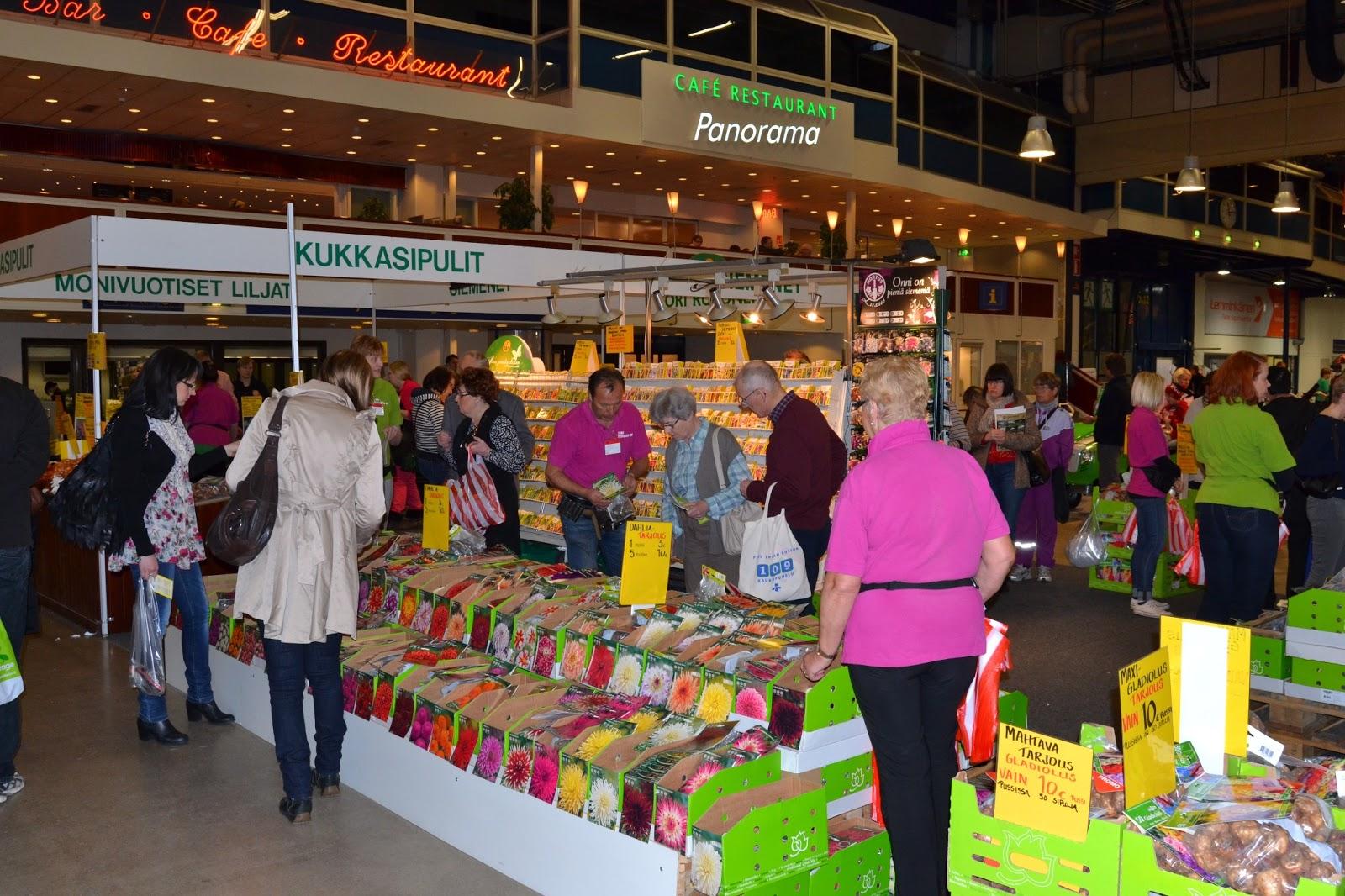 Helsingin puutarhamessut – Garden fair in Helsinki