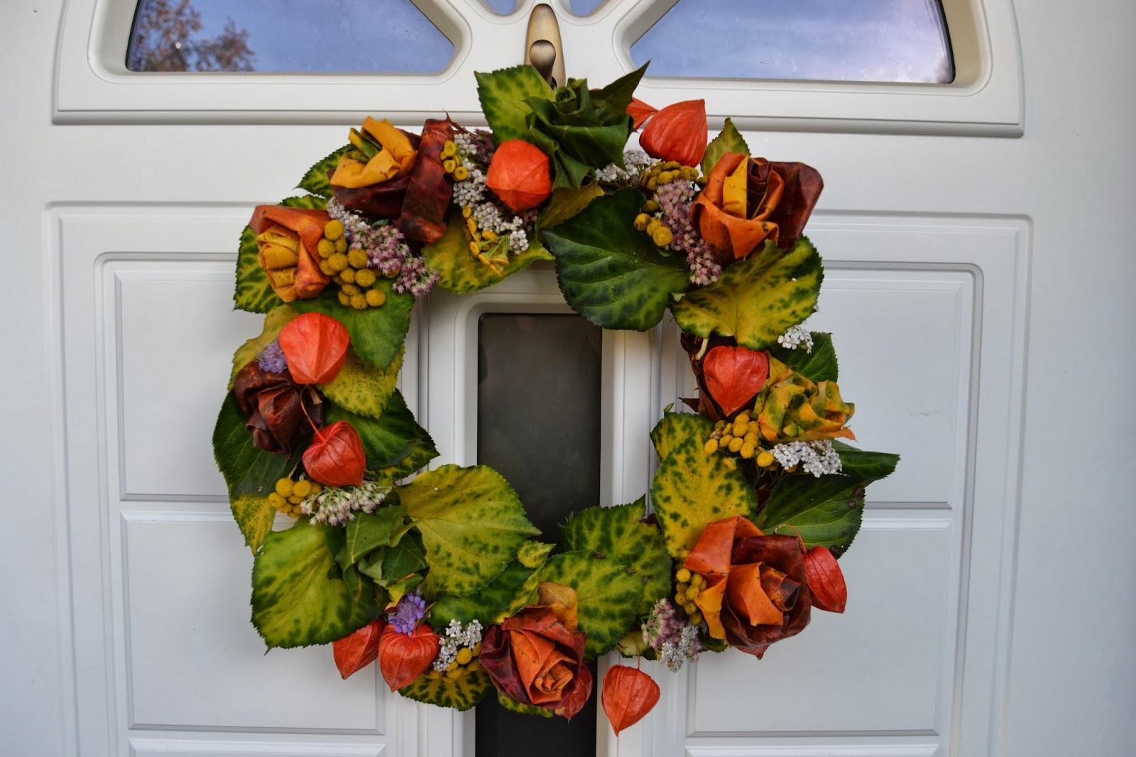 Syyskranssi – Autumnal wreath