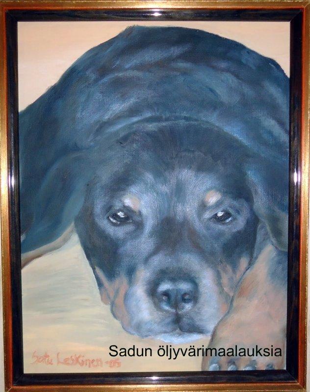 Öljyvärimaalauksiani – My oil paintings