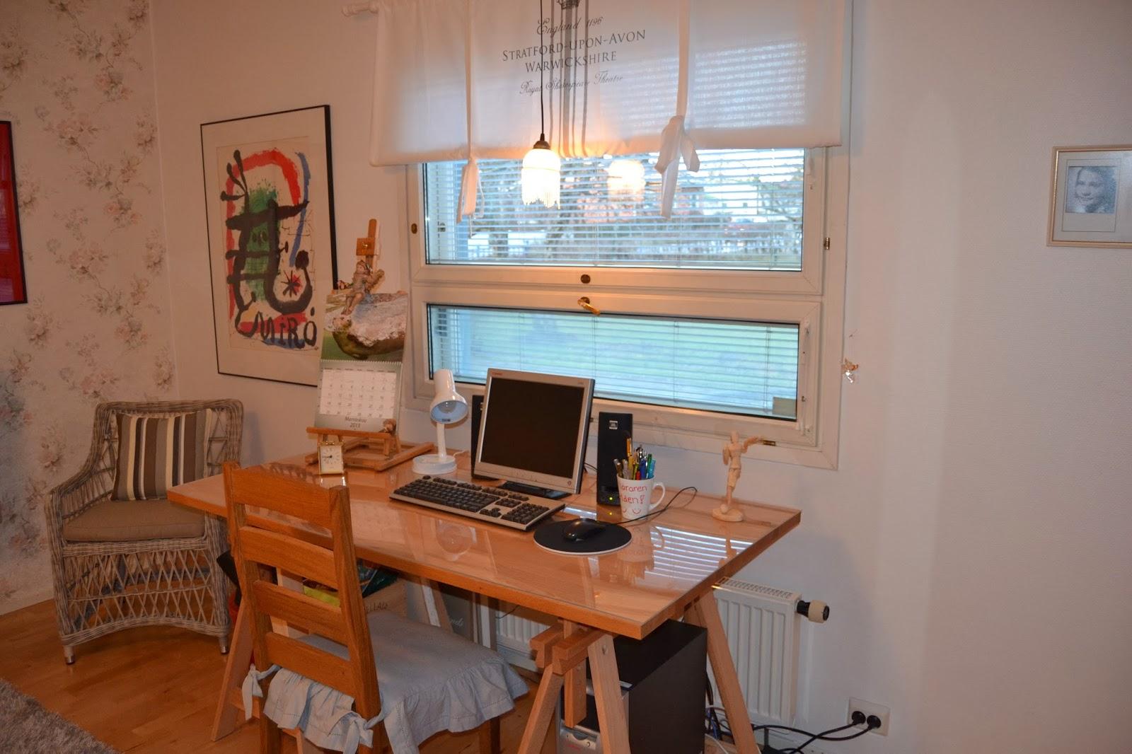 Työhuone – Work space