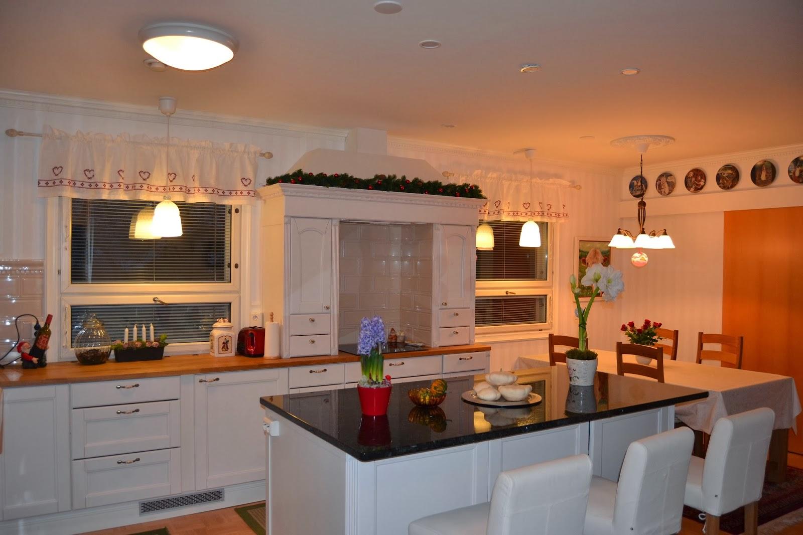 Jouluinen keittiö ja arvontamuistutus!  – Our Christmassy kitchen