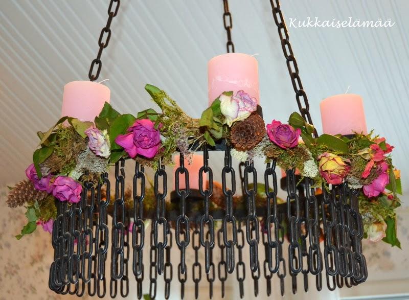 Kynttiläkruunu – Chandelier