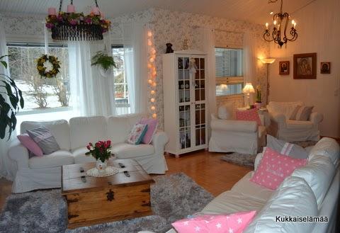 Olohuone tänään – Our living room today