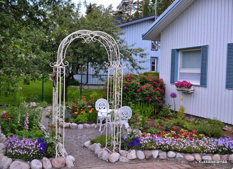 Puutarhamme on avoin tänään vierailijoille!