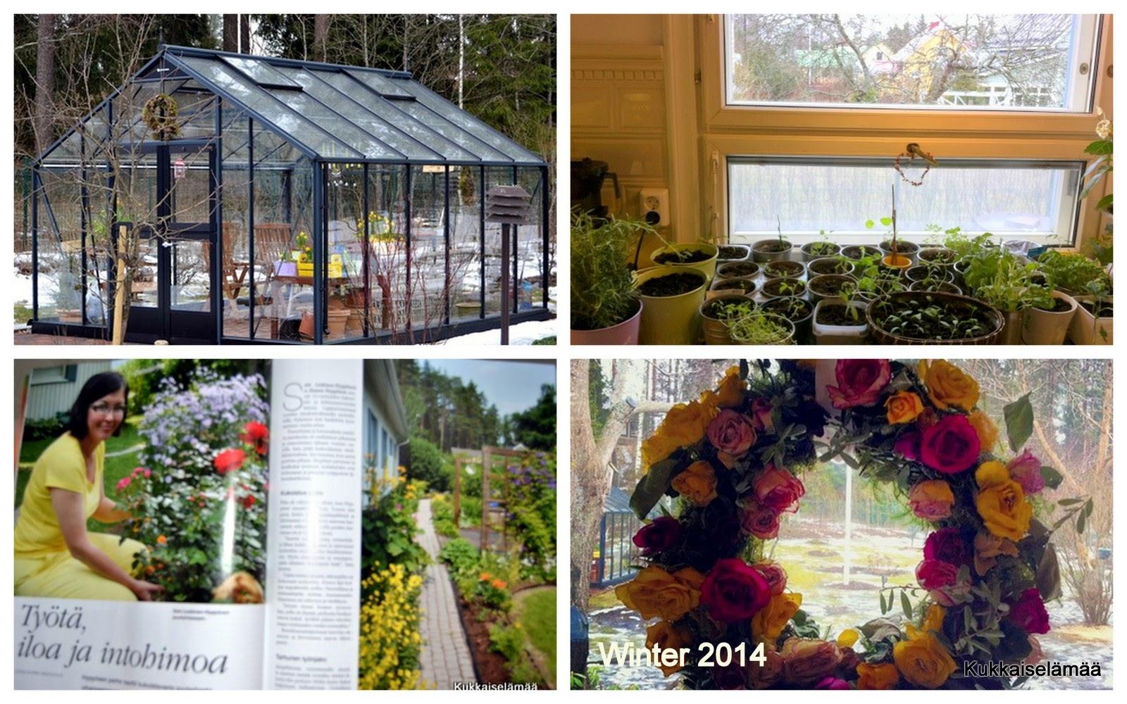 Puutarhan vuosi 2014 – Gardening year 2014