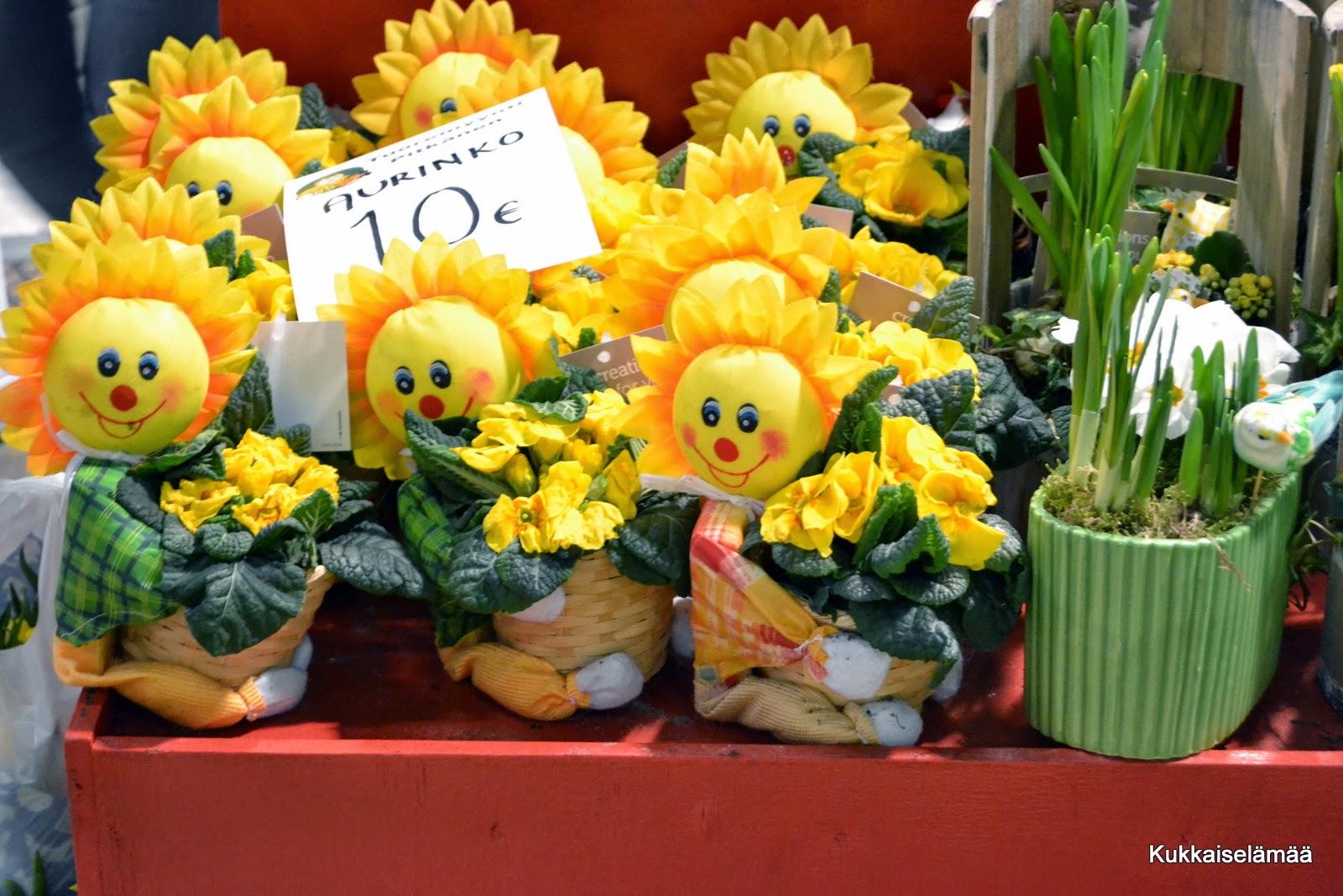 Kevätmessut-kuvia 2 ja MESSULIPPUARVONTA! – Garden fair