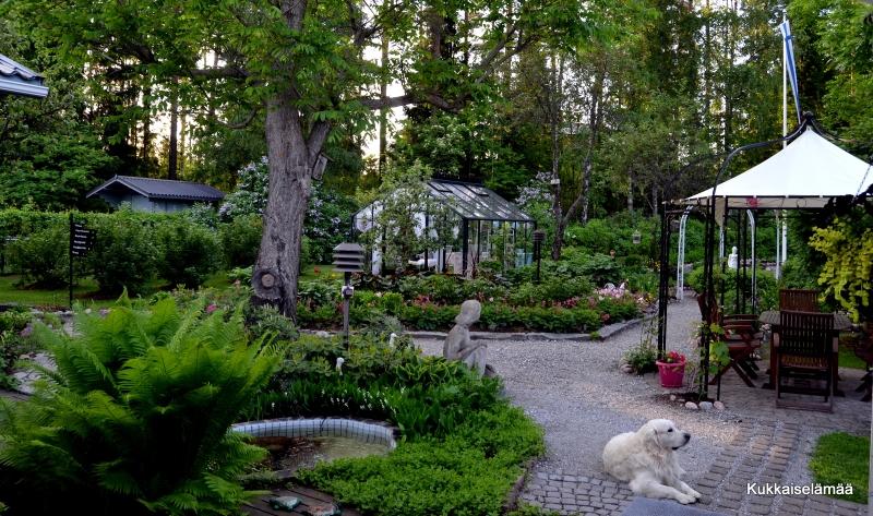 Sunnuntain tunnelmia – Sunday in our garden