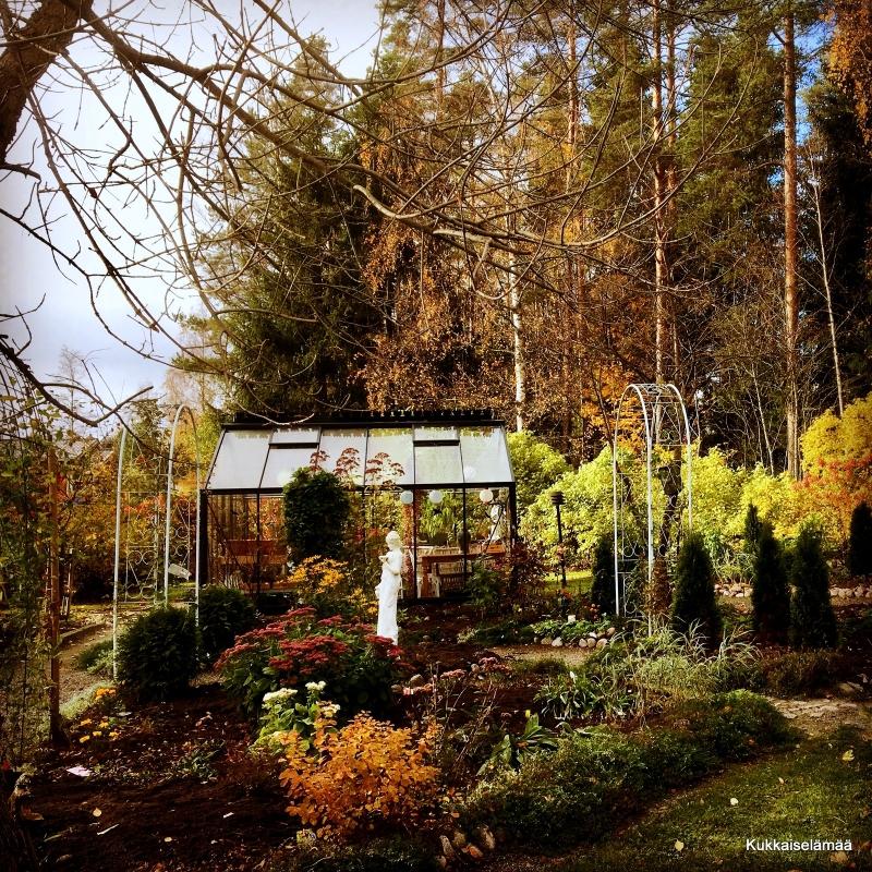 Ottaa nyt lugnisti vaan!..- Autumn in our garden