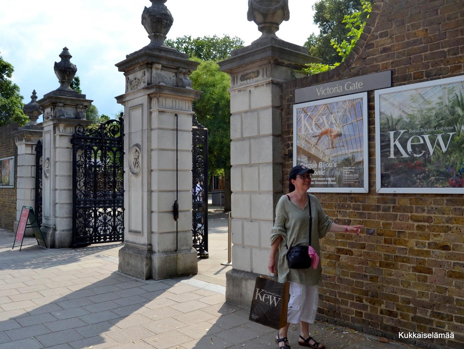 Kew Gardensin viktoriaaniset kasvihuoneet ja ARVONNAN VOITTAJAT