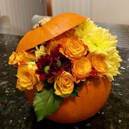 Halloween-kurpitsa