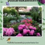 Kukkaiselämää-puutarhakalenteri
